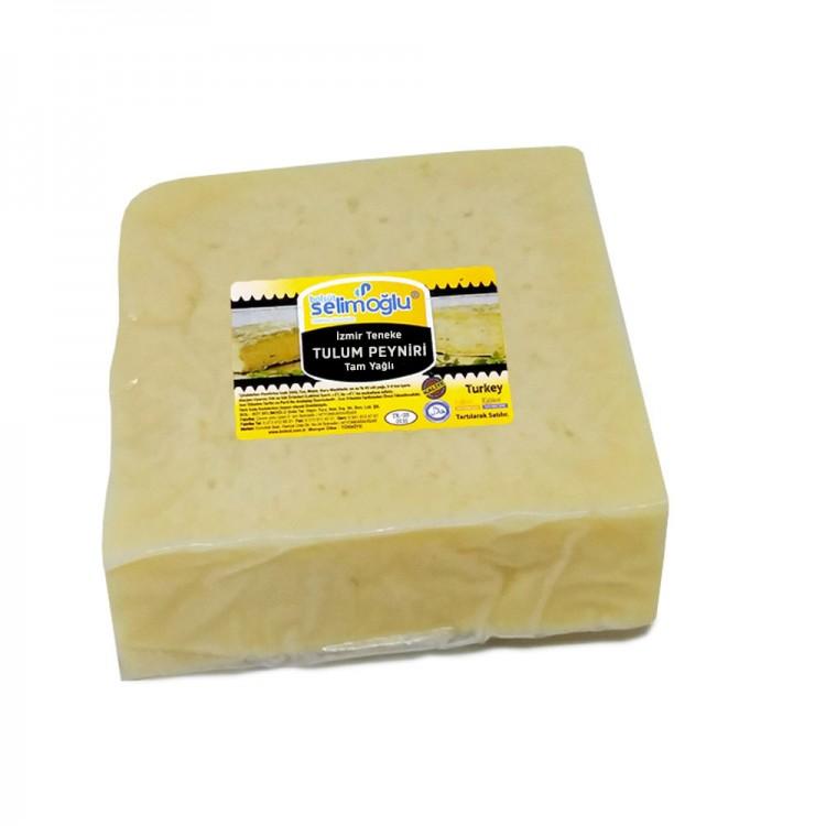 Tulum Peyniri İzmir Teneke Tam Yağlı 1kg